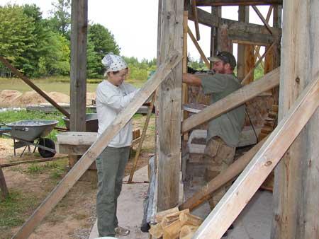 Cordwooding is fun! Years and years of fun!