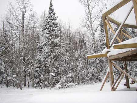 Snowflakes keep fallin' on my house...